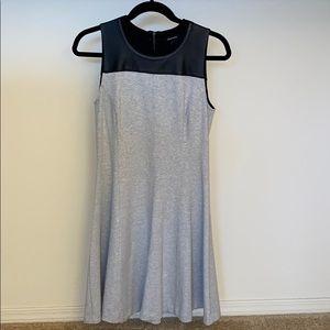 Club Monaco grey knit dress
